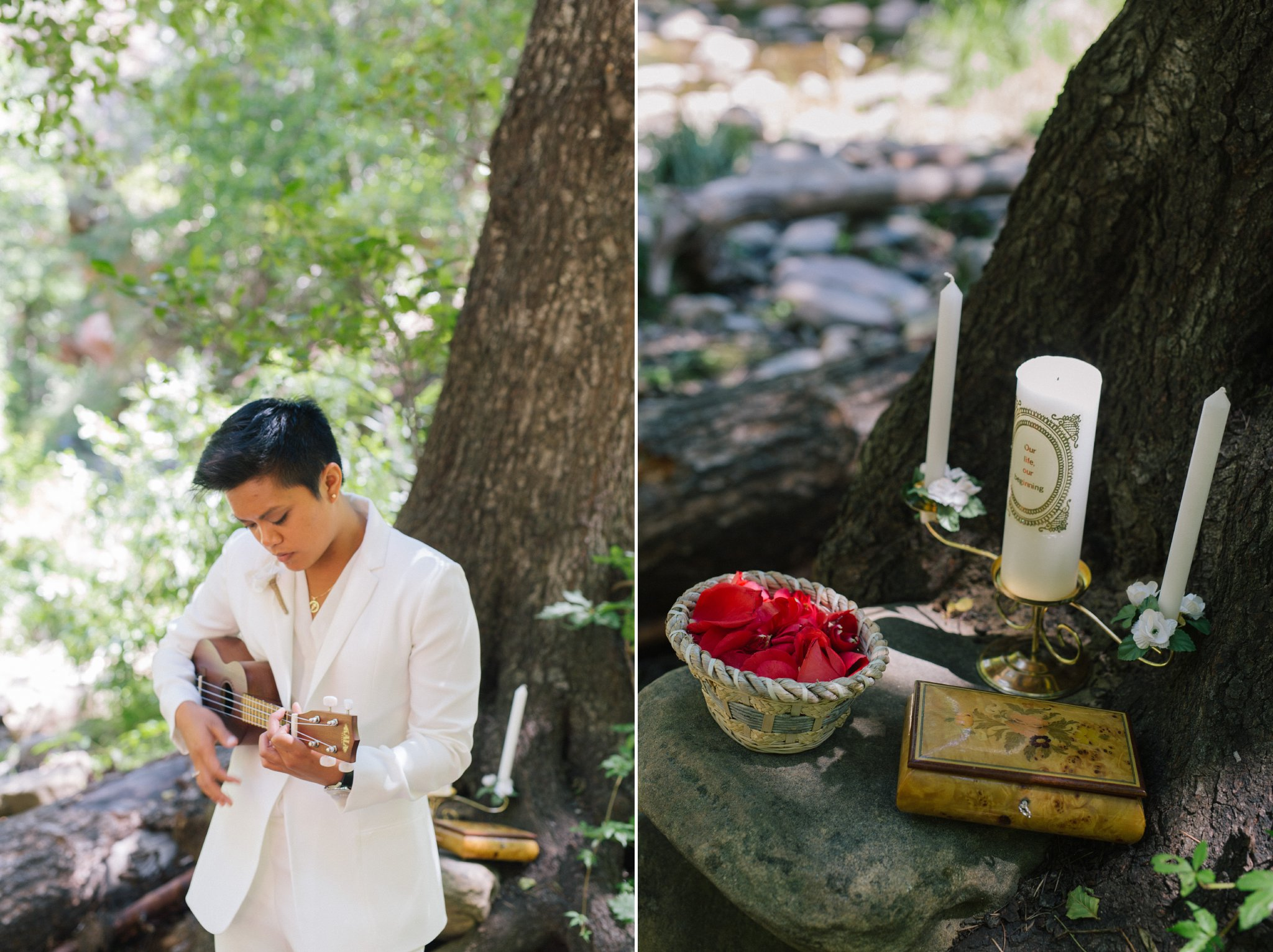 West Fork Trail Sedona elopement