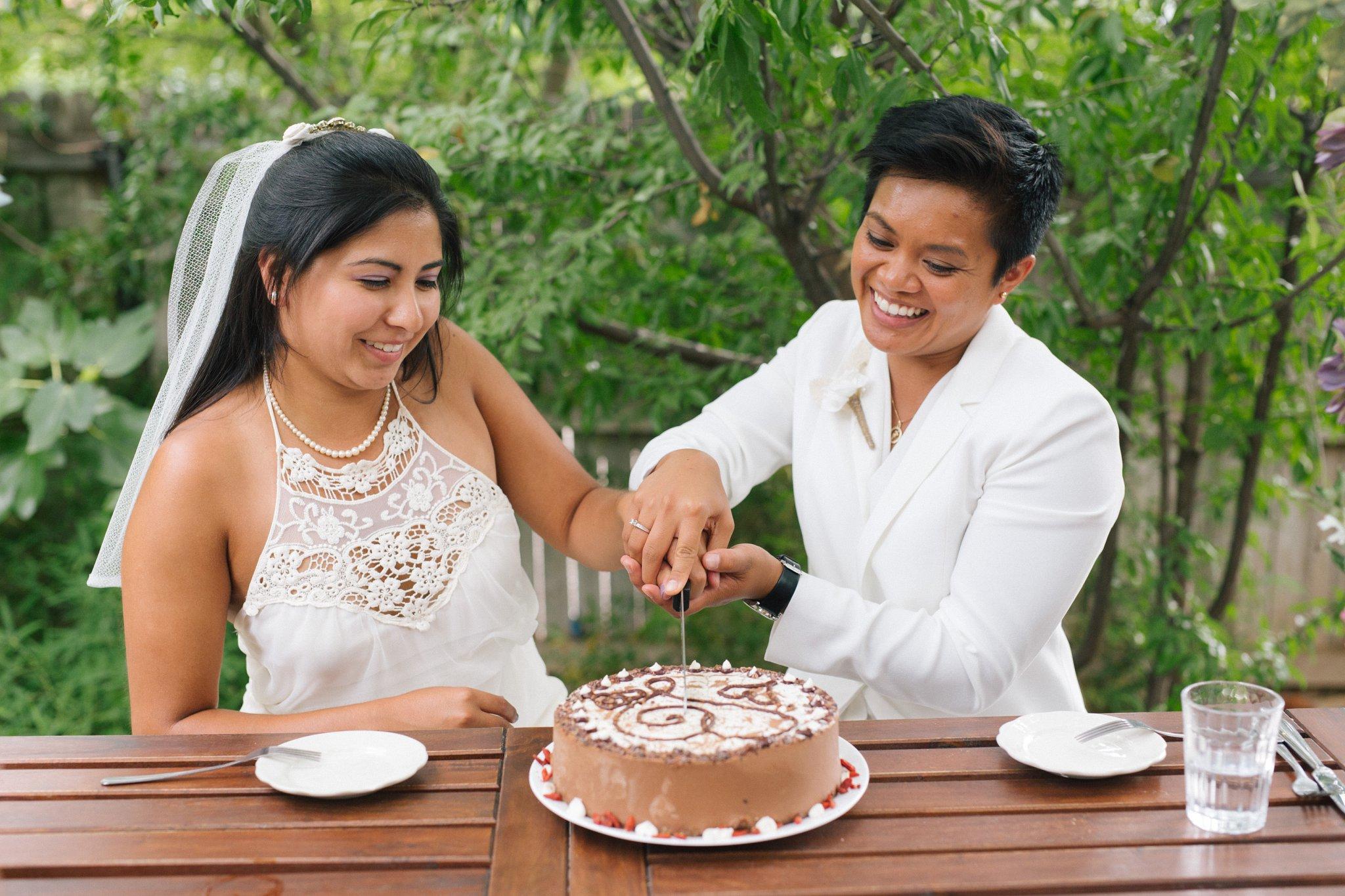 elopement reception at Chocola Tree Sedona