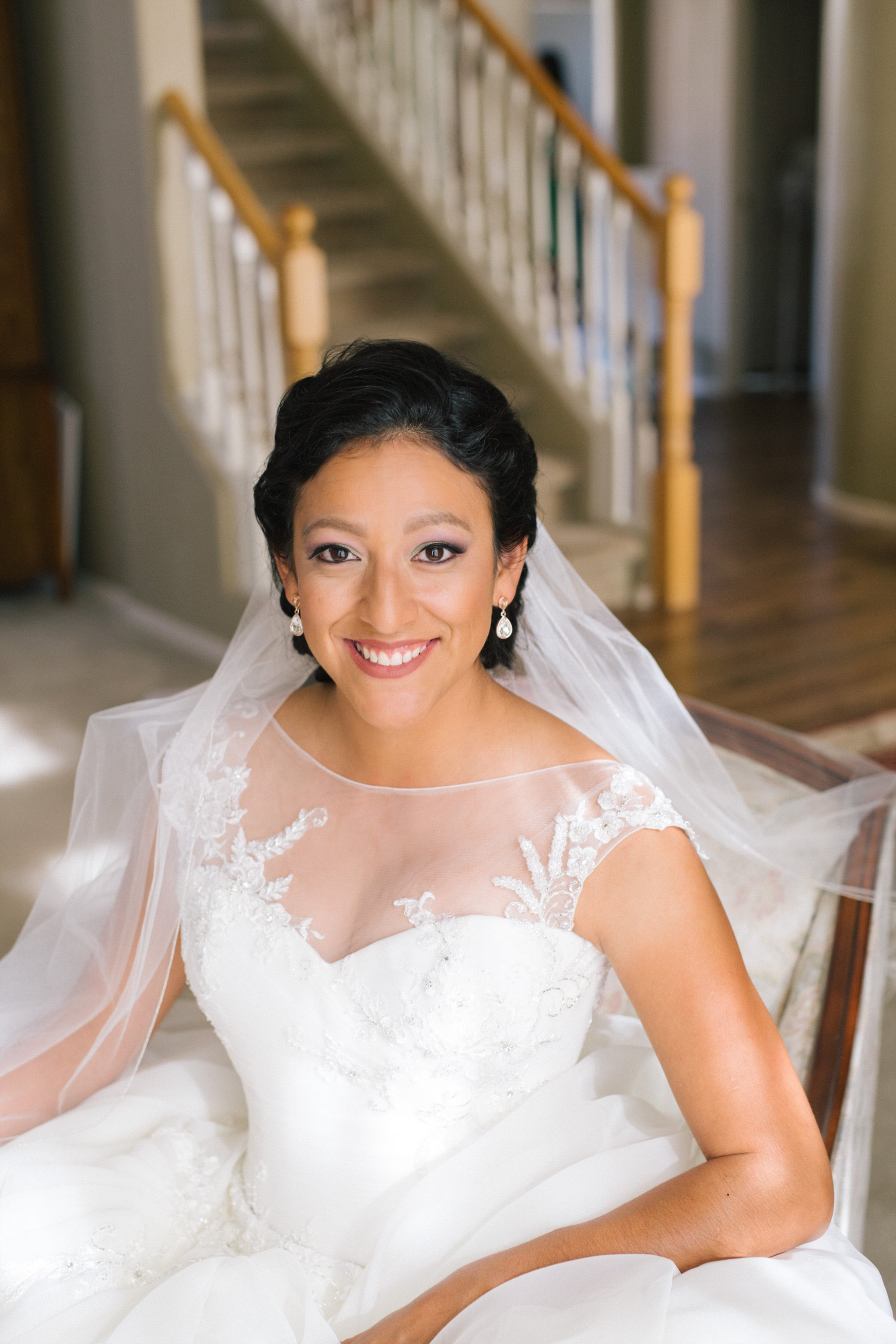 bridal portraits in Mesa AZ home