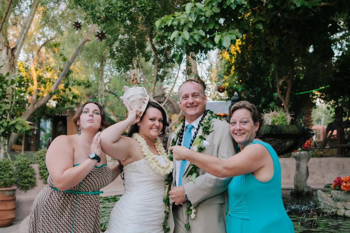 goofy family formal with conch