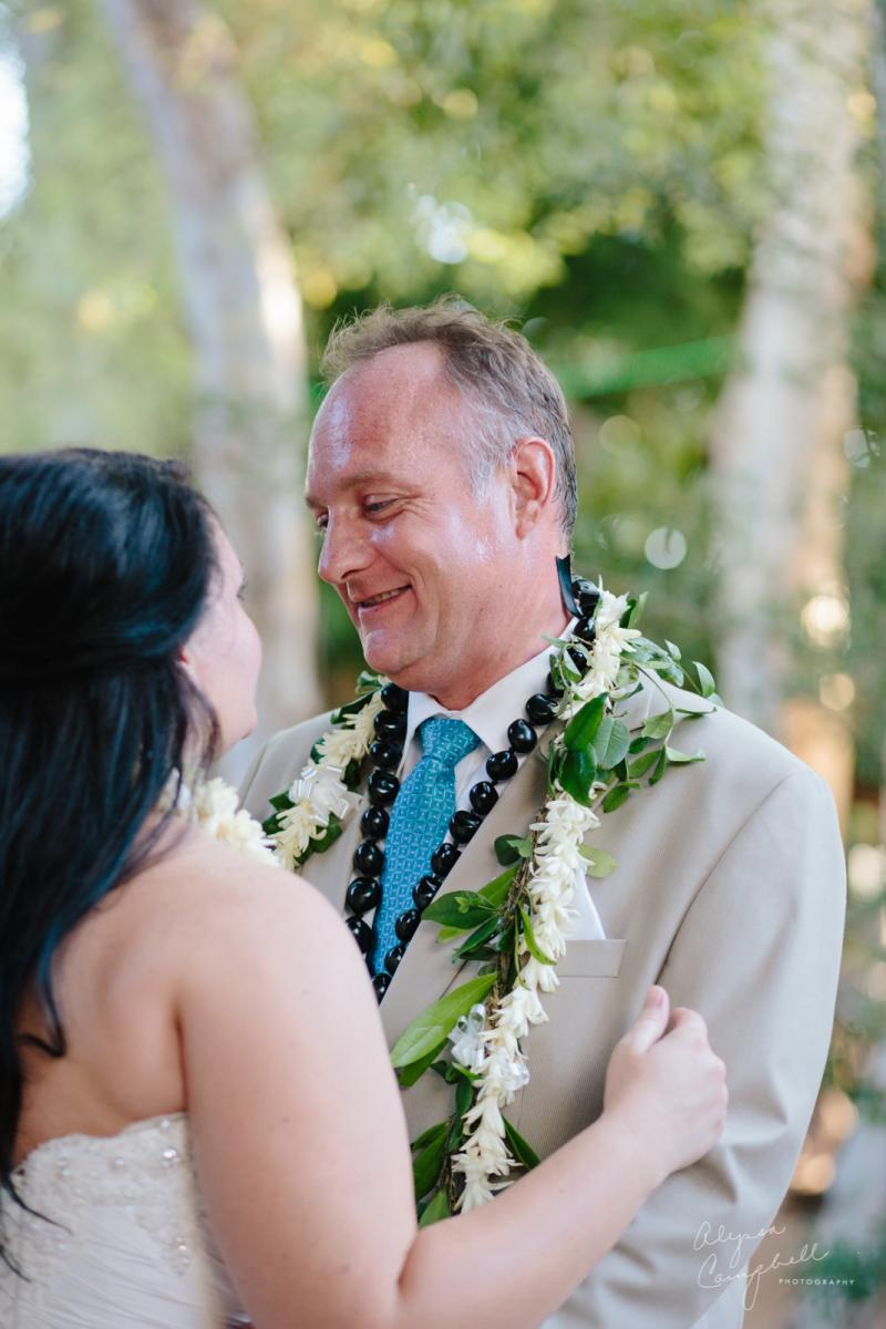 groom seeing bride for first time Boojum Tree Phoenix elopement