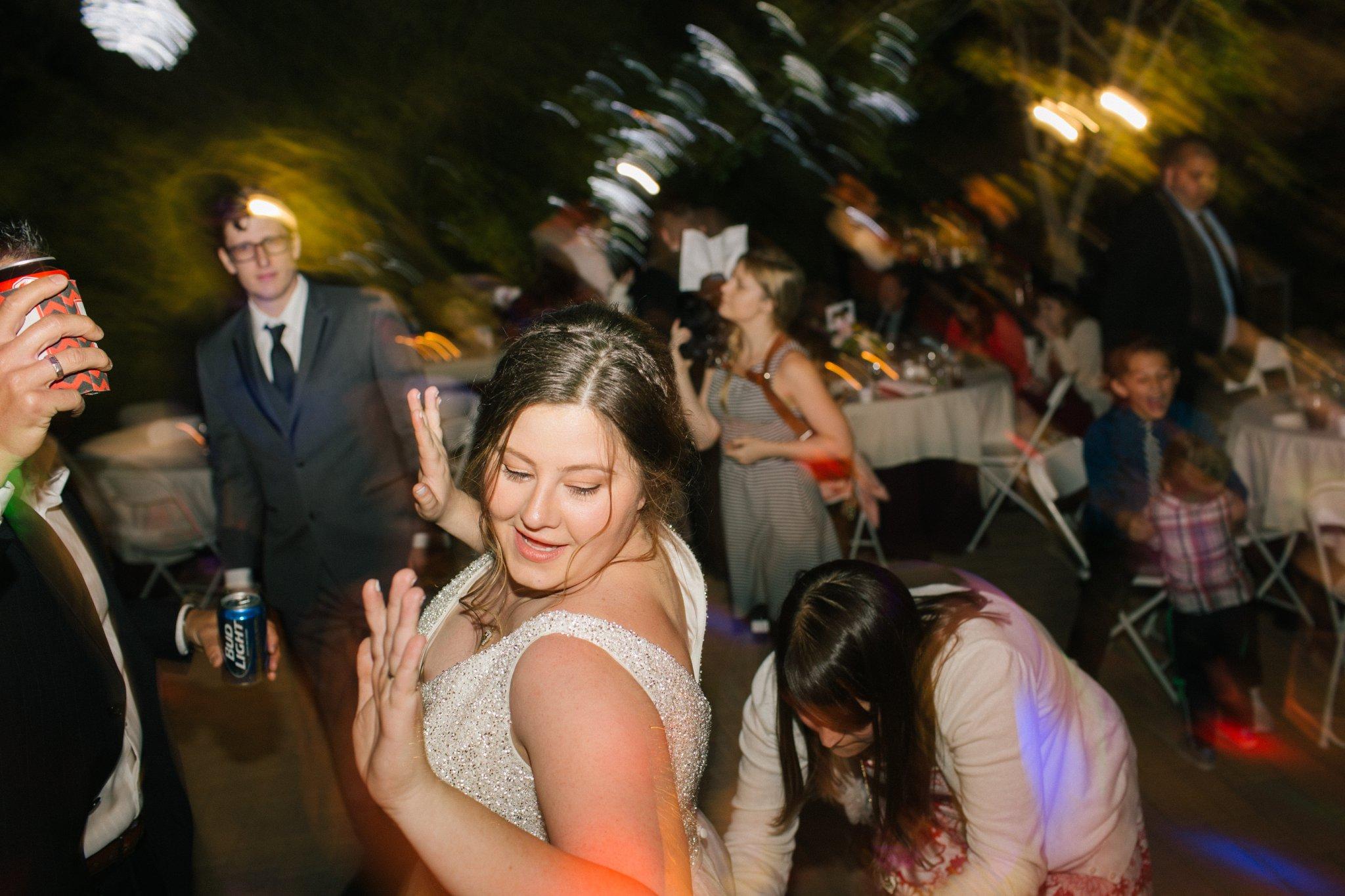 wedding reception at Phoenix Zoo
