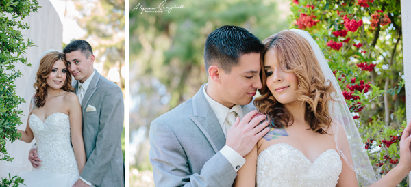 bride and groom at Scottsdale Resort & Conference Center Arizona