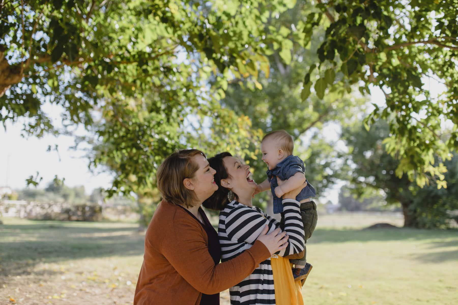 same sex family photos Gilbert AZ