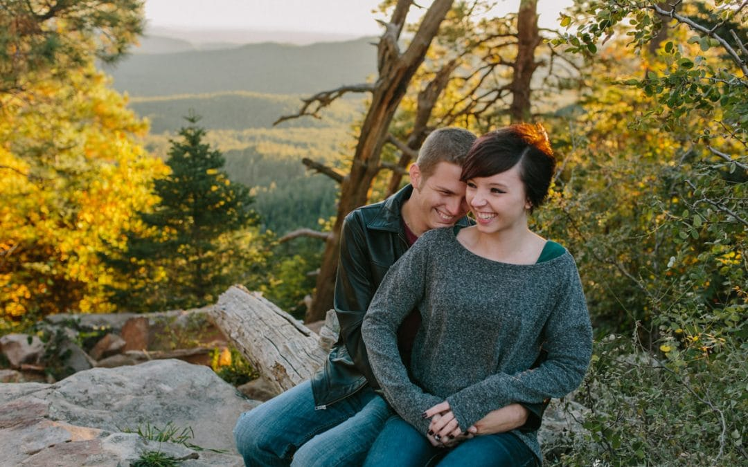 Mogollon Rim Engagement Session | Matt & Krista