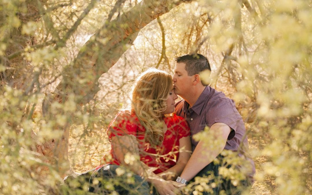 Fun Engagement Session at Papago Park | Rachel & Robert