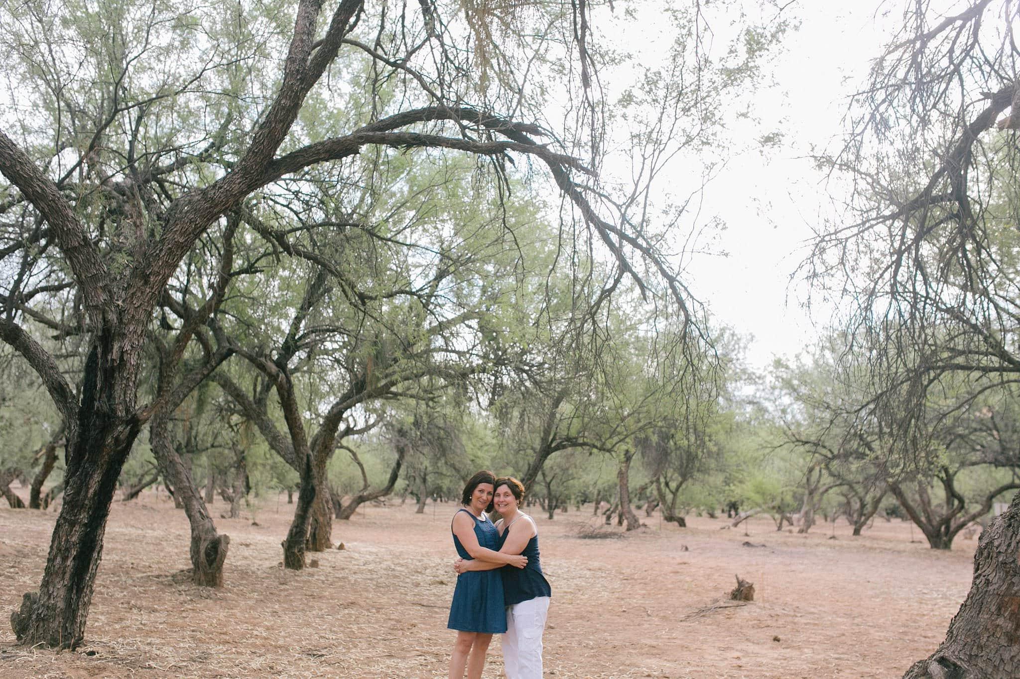 same sex engagement photographer in Arizona