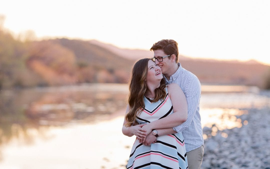 Scenic Outdoor Mesa Engagement Session | Samantha & Josh
