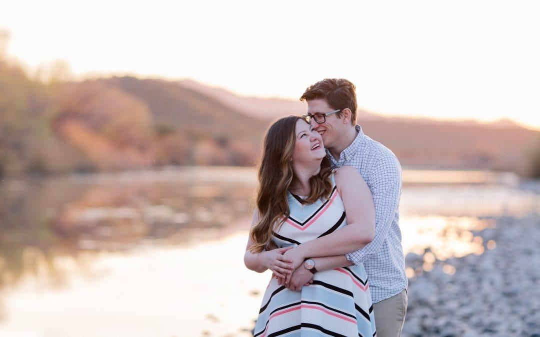 Scenic Outdoor Mesa Engagement Session | Samantha & Josh