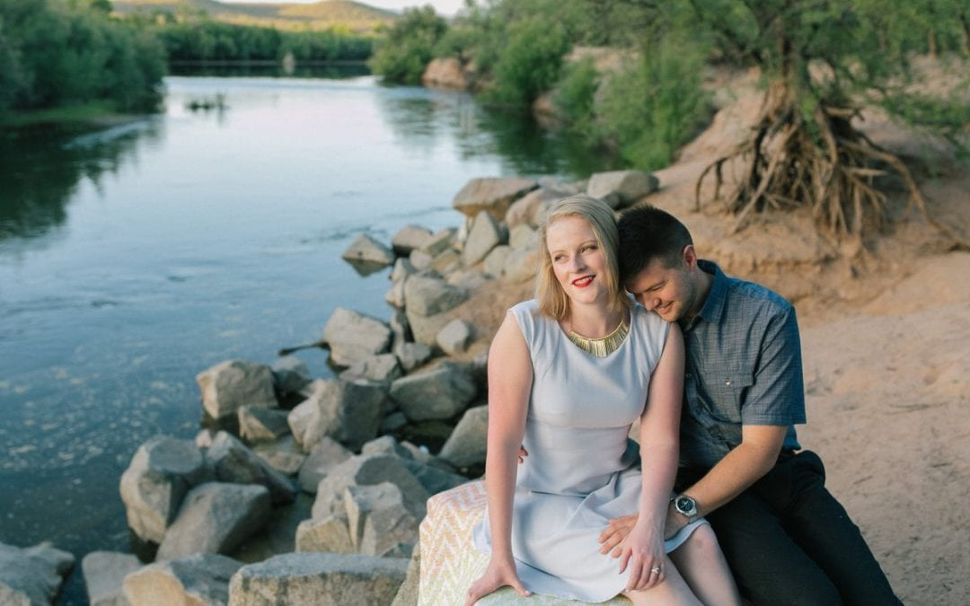 Salt River Engagement Photos | Elizabeth & Clifford