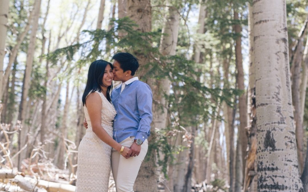Leonor & Katryna's Flagstaff Engagement Photos