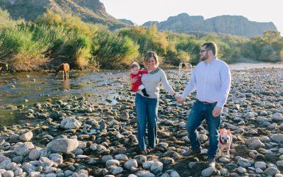 Mesa Salt River Family Portraits | Sidney & Jason
