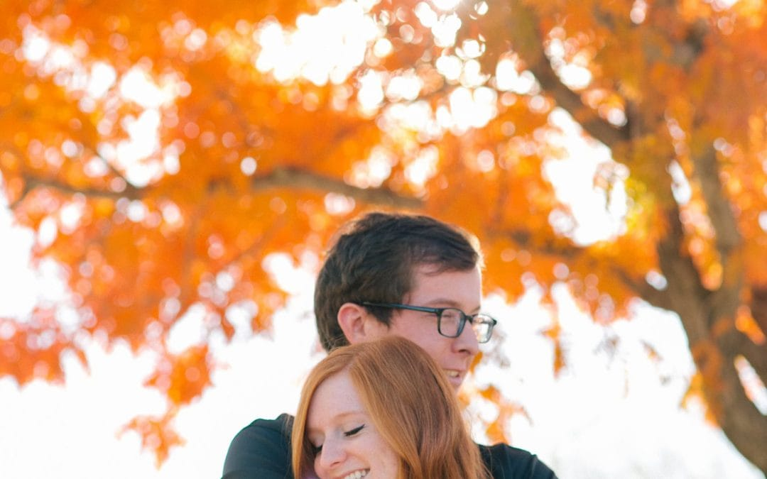 Ross & Kirsten's Colorful Downtown Mesa Engagement Session