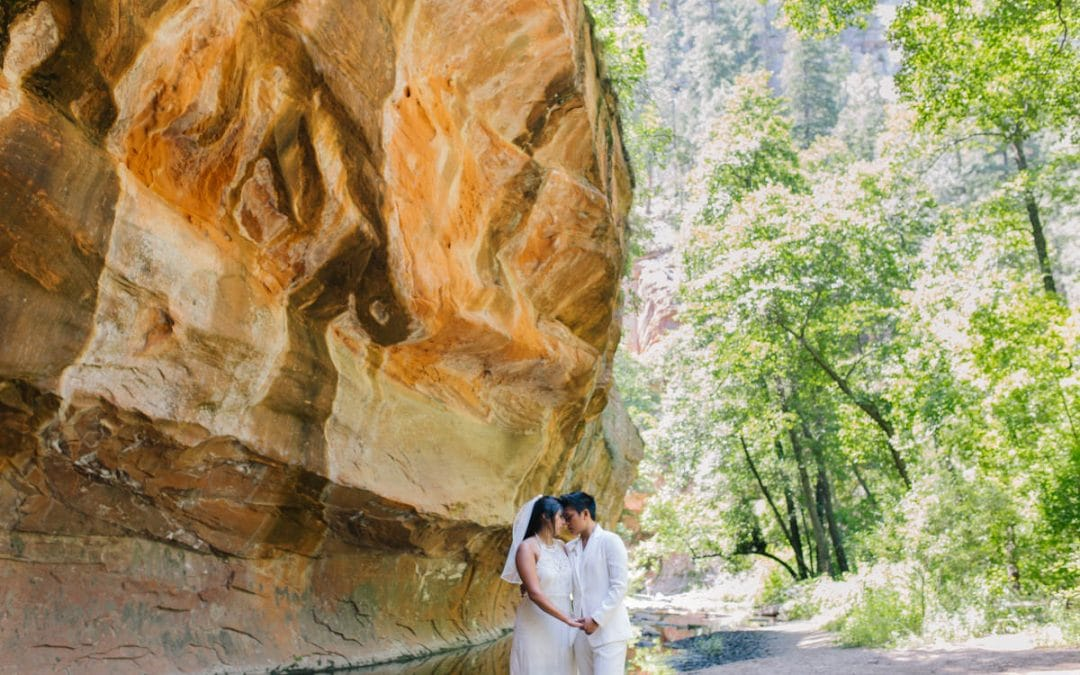 Leonor & Katryna's West Fork Trail Sedona Elopement