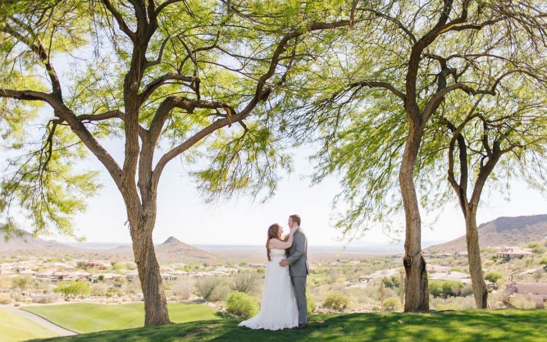 Jessica & Craig's Eagle Mountain Golf Resort Wedding Photos