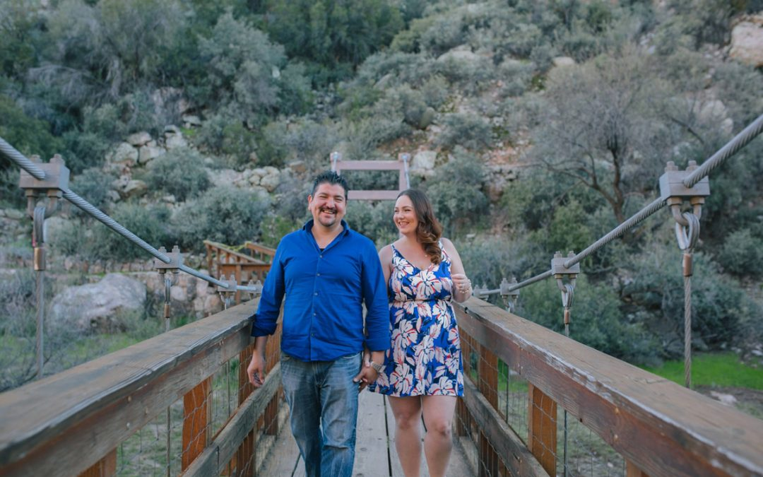 Boyce Thompson Arboretum Engagement Photos | Danielle & Mauricio
