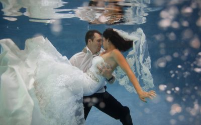 Phoenix Underwater Trash the Dress Session