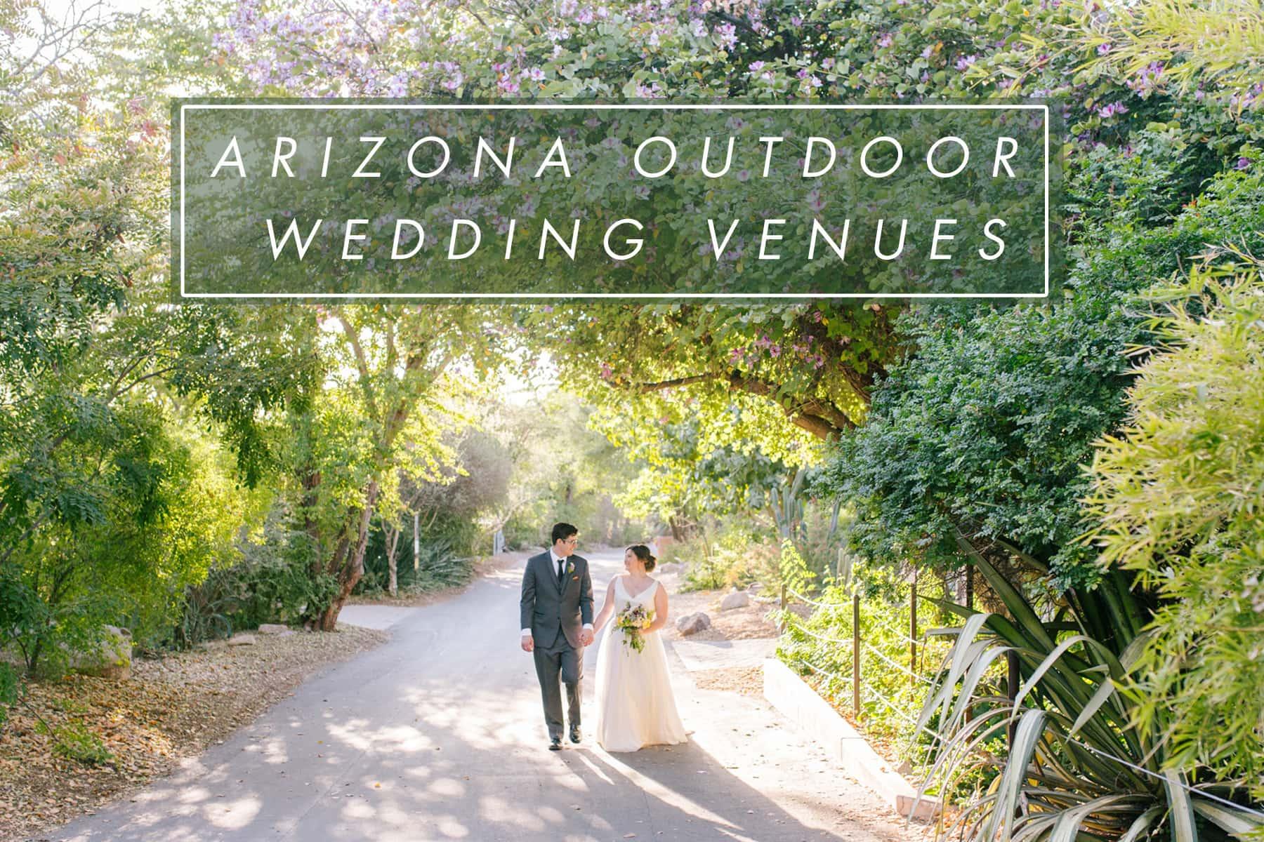 outdoor arizona wedding venues