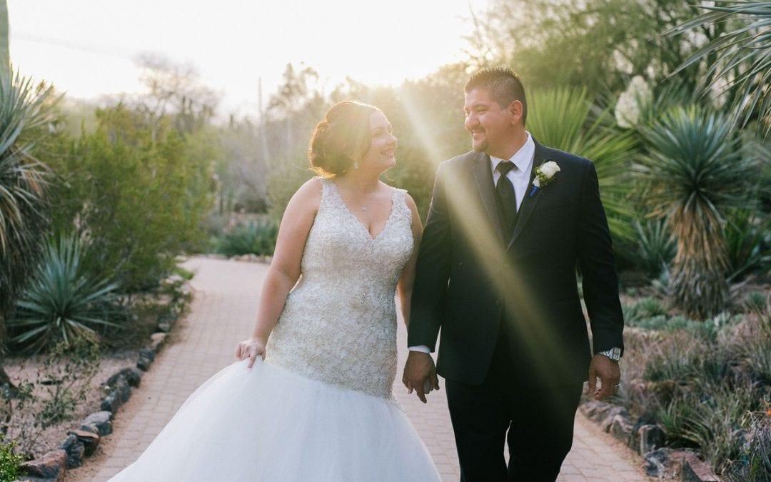 Danielle & Mauricio's Desert Botanical Garden Wedding
