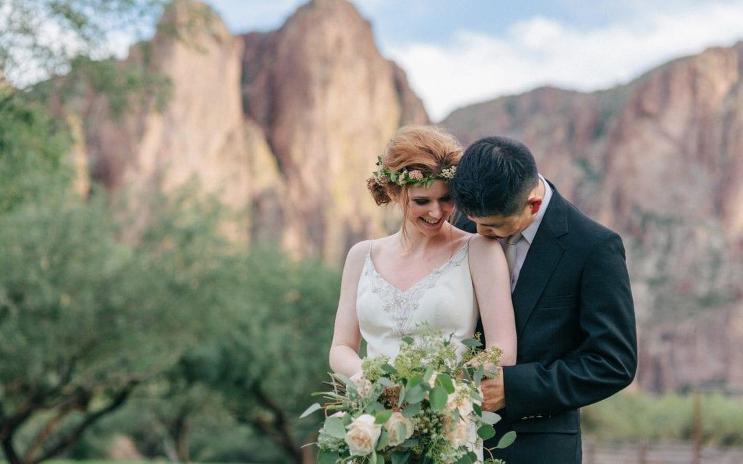 Saguaro Lake Guest Ranch Styled Wedding