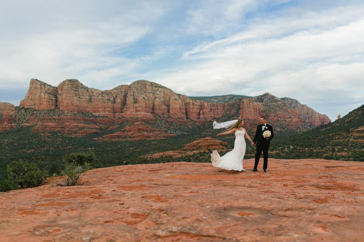 Sedona wedding and elopement photographer Alyssa Campbell Photography