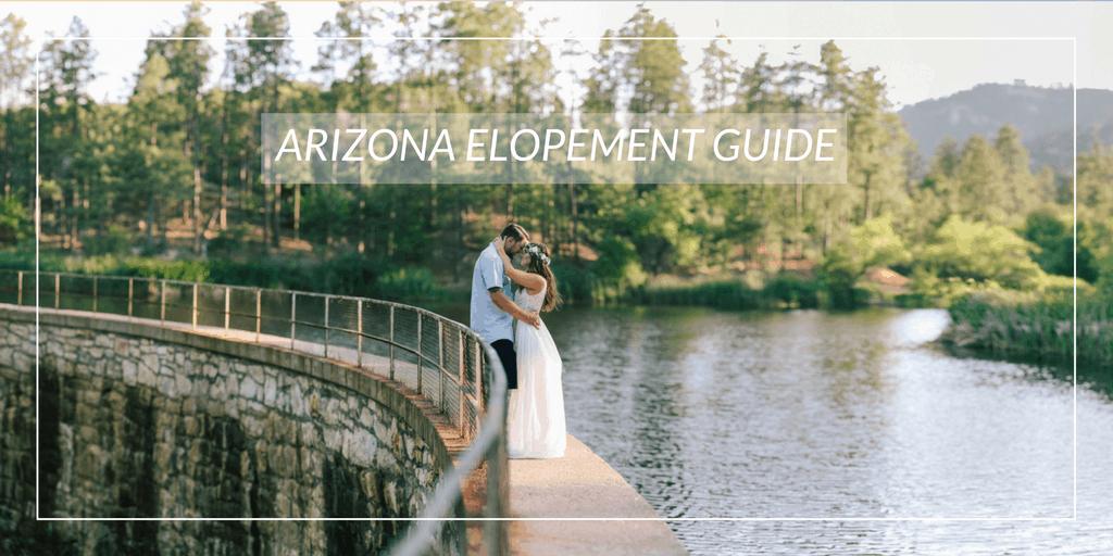 Outdoor Beautiful Elopement Location Ideas in Arizona