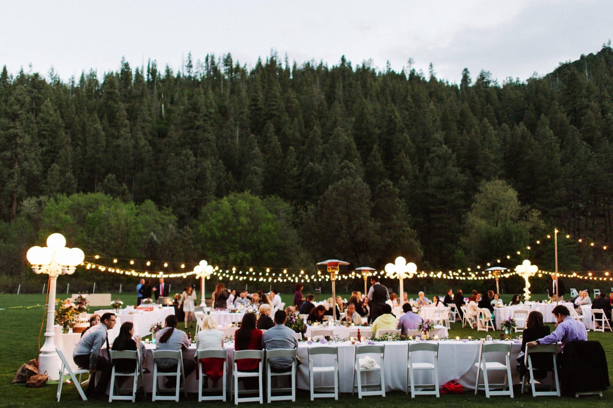 Payson summer camp wedding by Heather Jowett