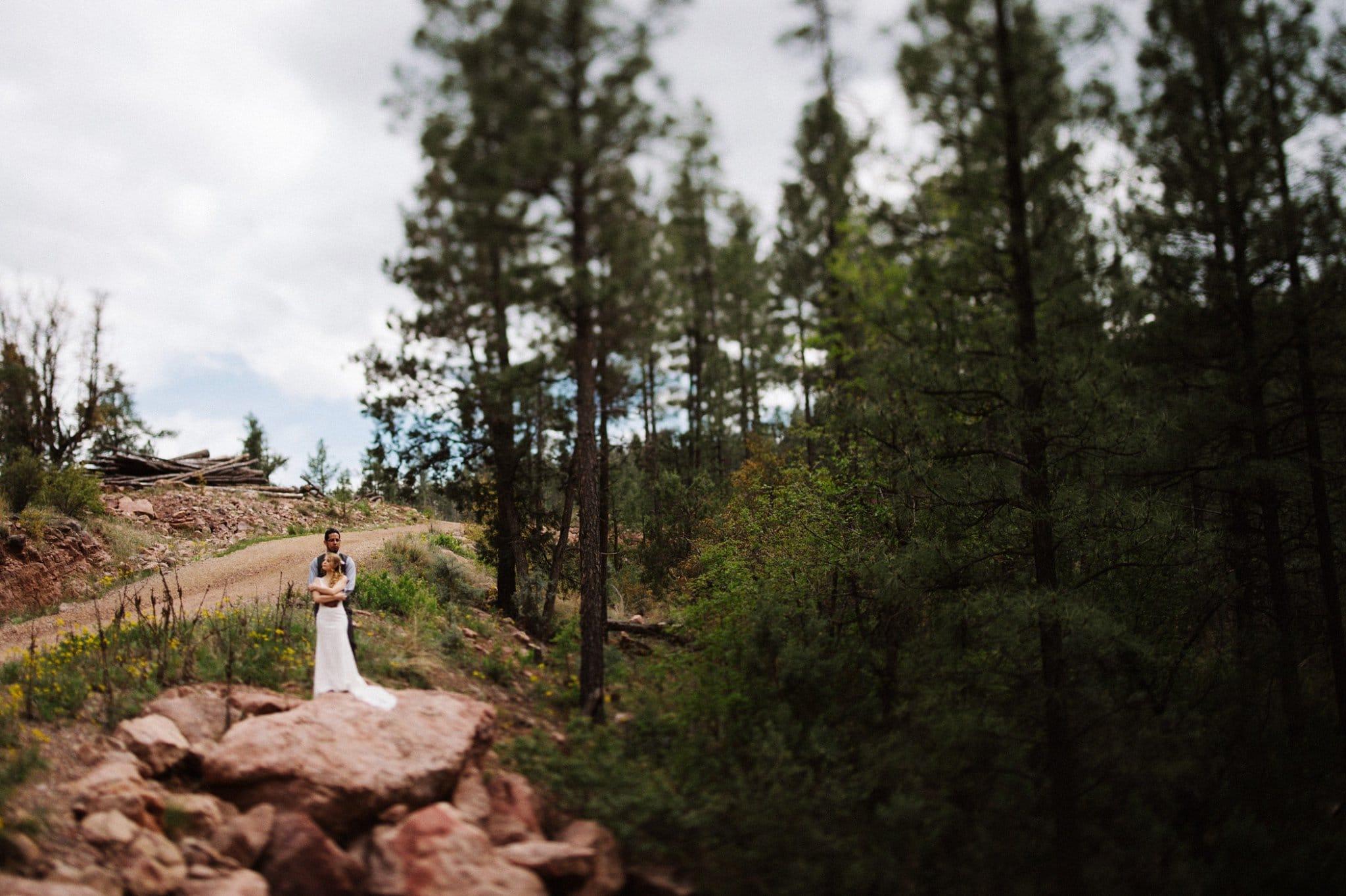 Tonto Creek Camp wedding by Michigan photographer Heather Jowett