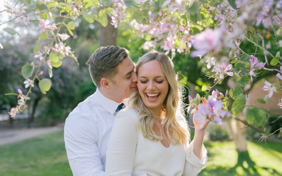 Arizona State University College Grad + Engagement Session