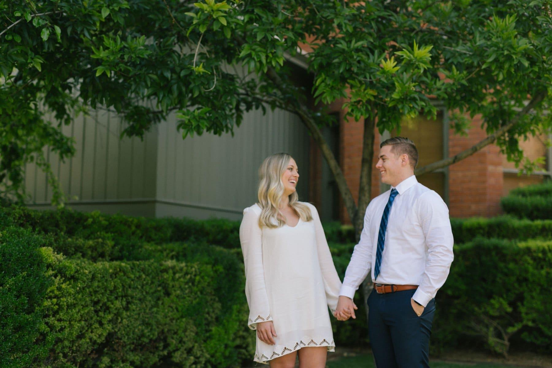 ASU engagement photographer Tempe