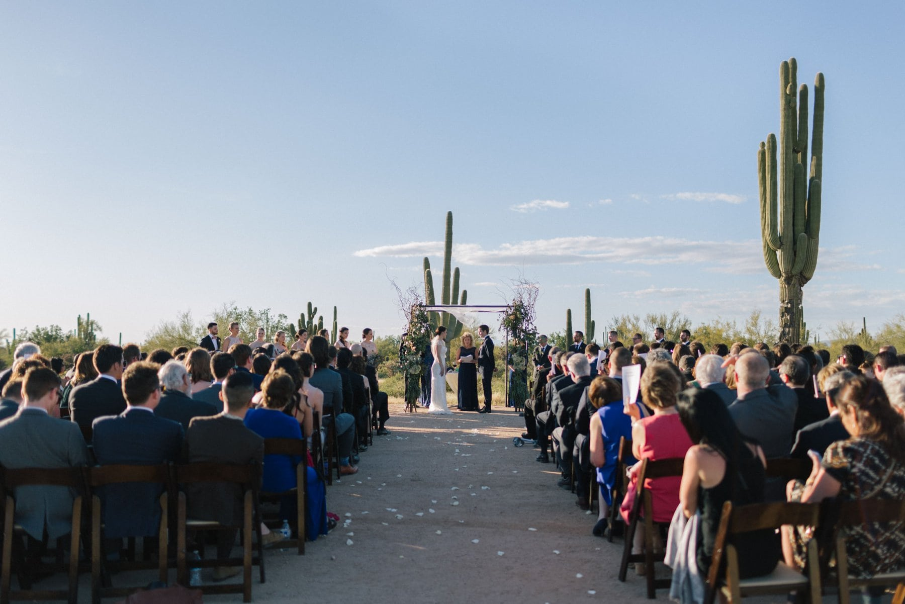 Desert Foothills barn venue desert ceremony