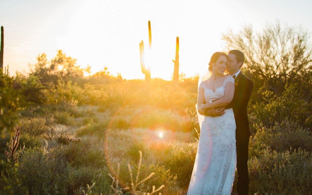 Elegant Classy Desert Foothills Barn Wedding | Hadas & Chris