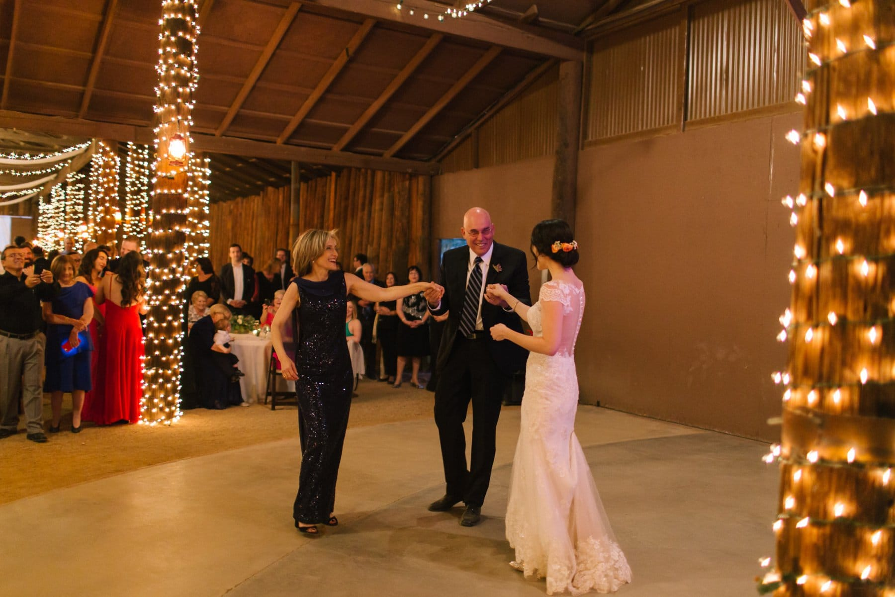 father daughter mother first dance Desert Foothills recpetion