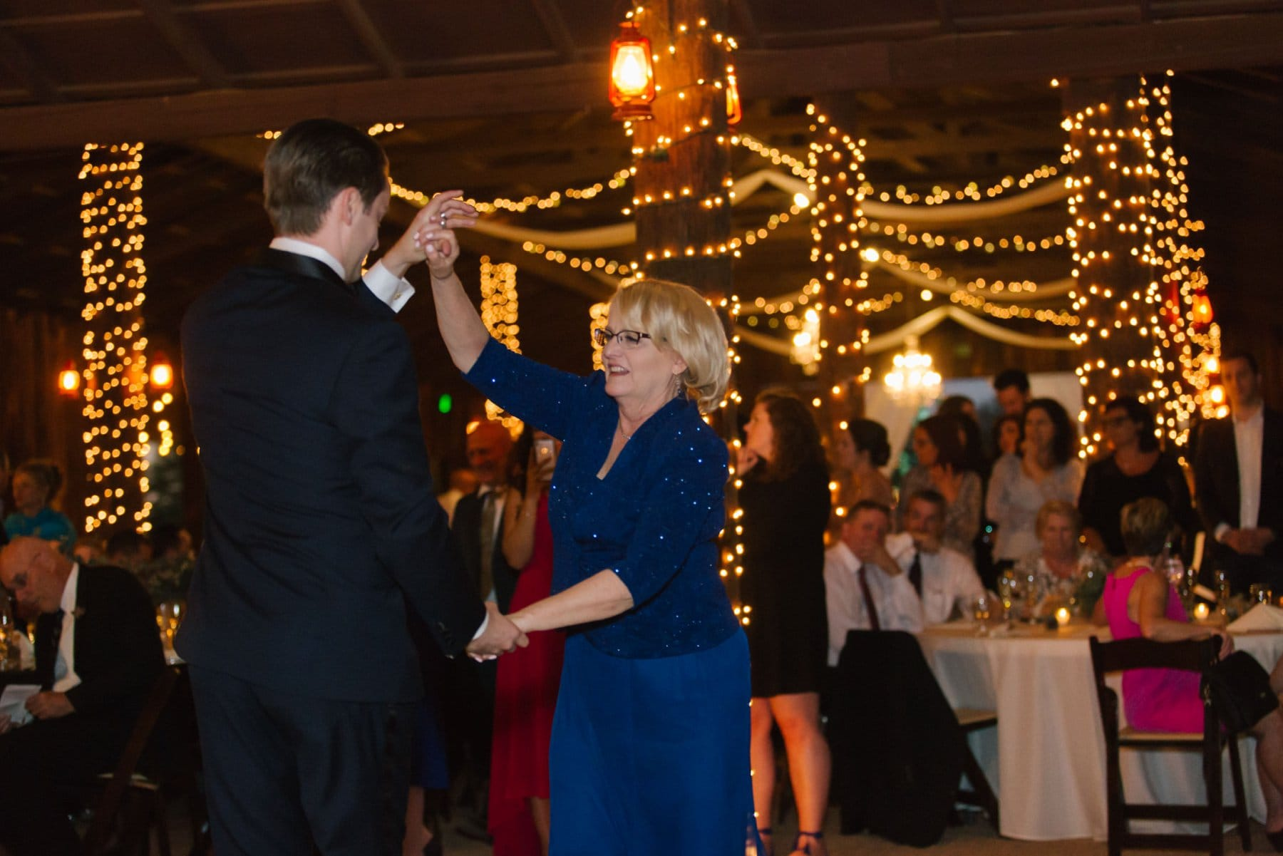 mother son dance Desert Foothills barn wedding reception