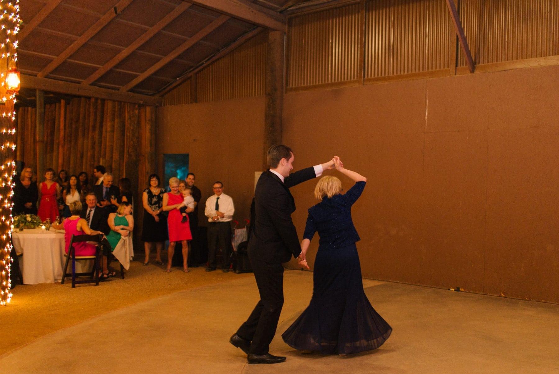 mother son dance Desert Foothills reception photos