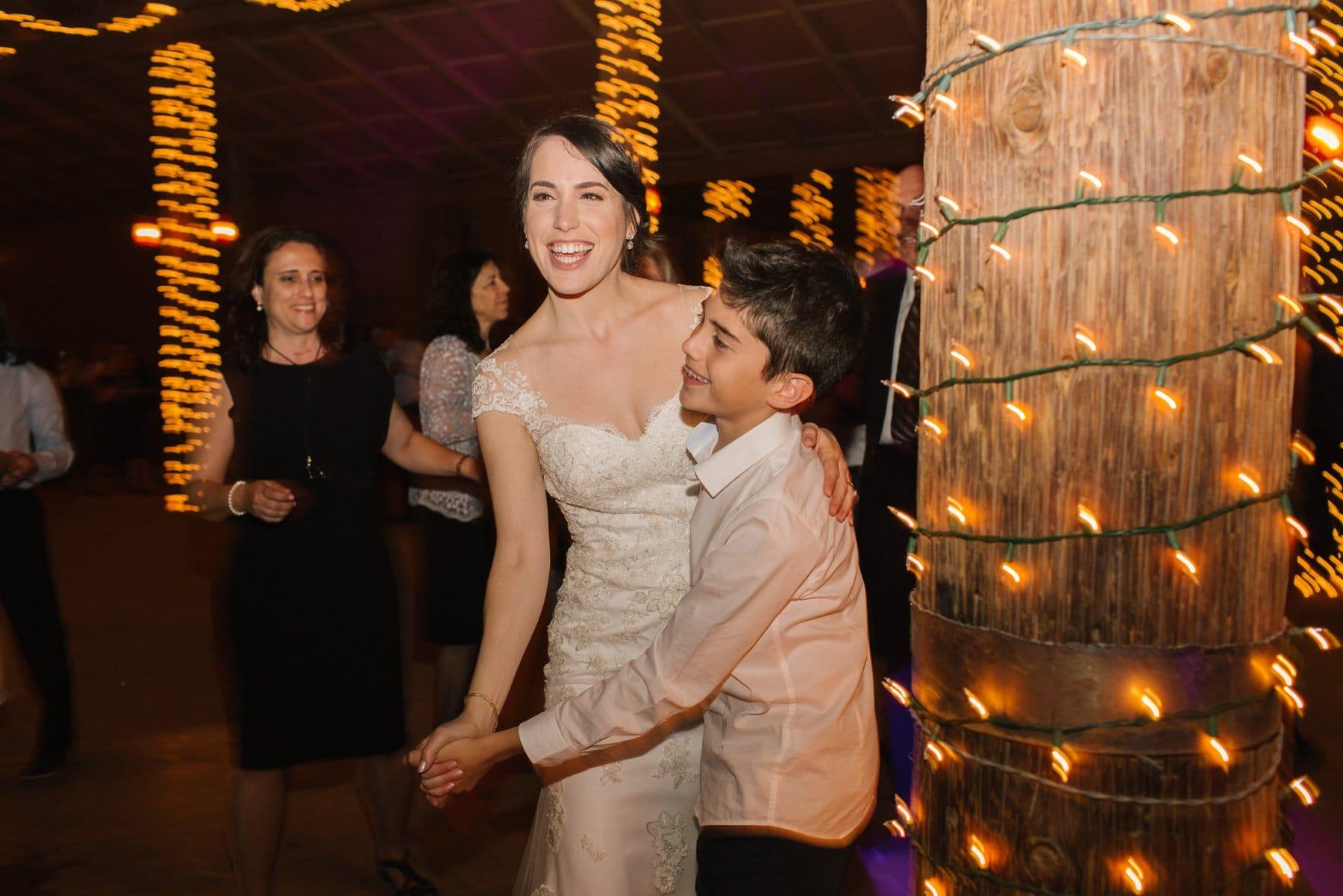 Desert Foothills reception dancing