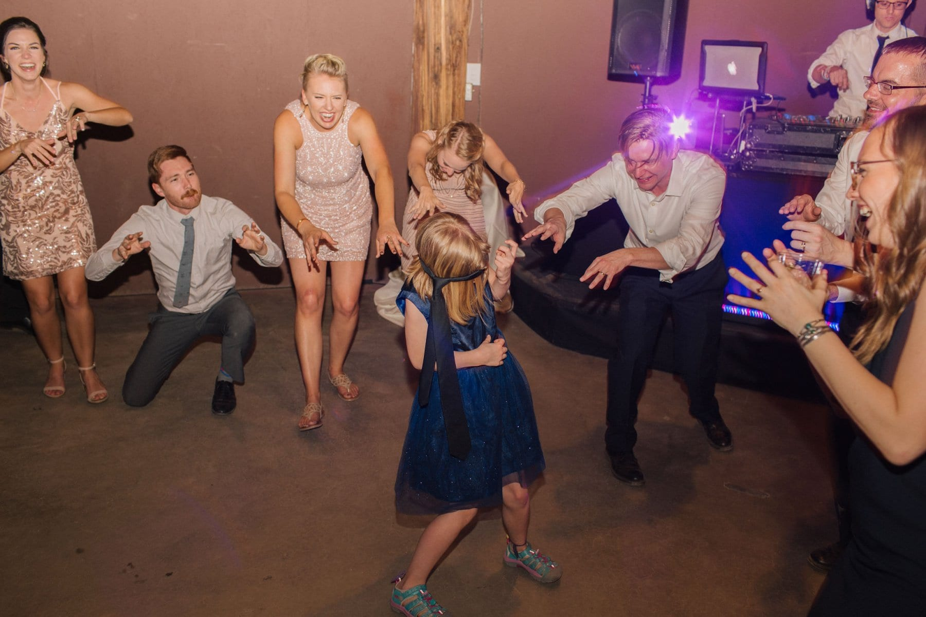 Desert Foothills reception dancing