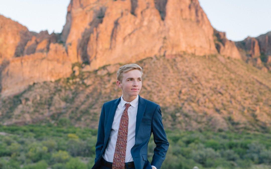 Mesa High School Senior Portraits   Red Mountain