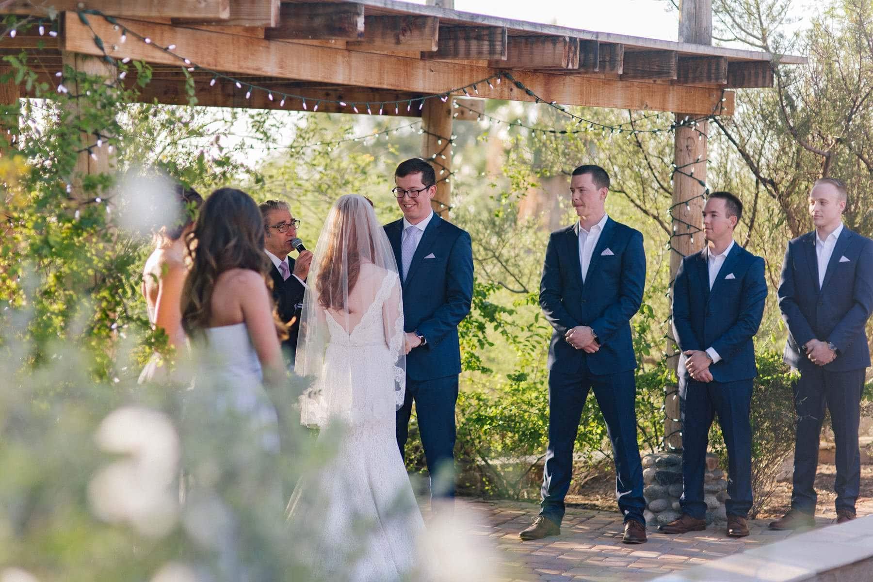 Phoenix Zoo wedding at Ruby's House