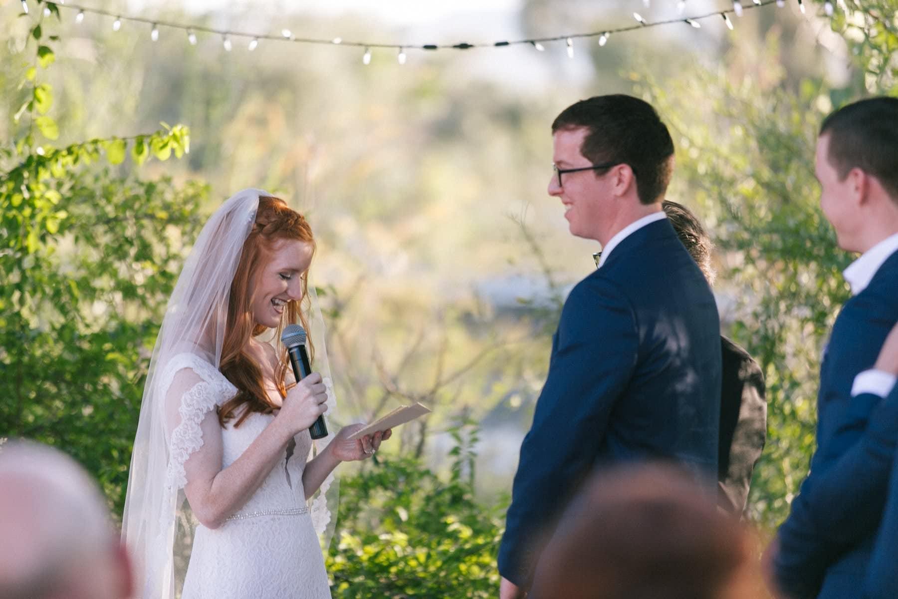 Phoenix Zoo wedding ceremony Ruby's House