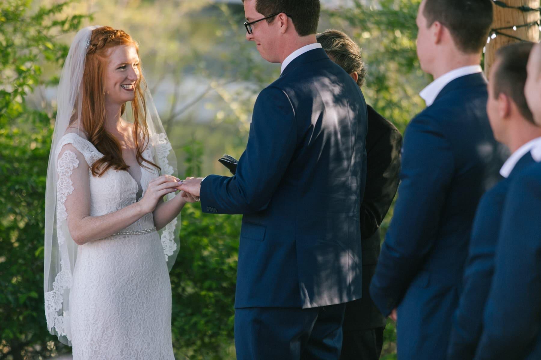 Ruby's House wedding ceremony Phoenix Zoo