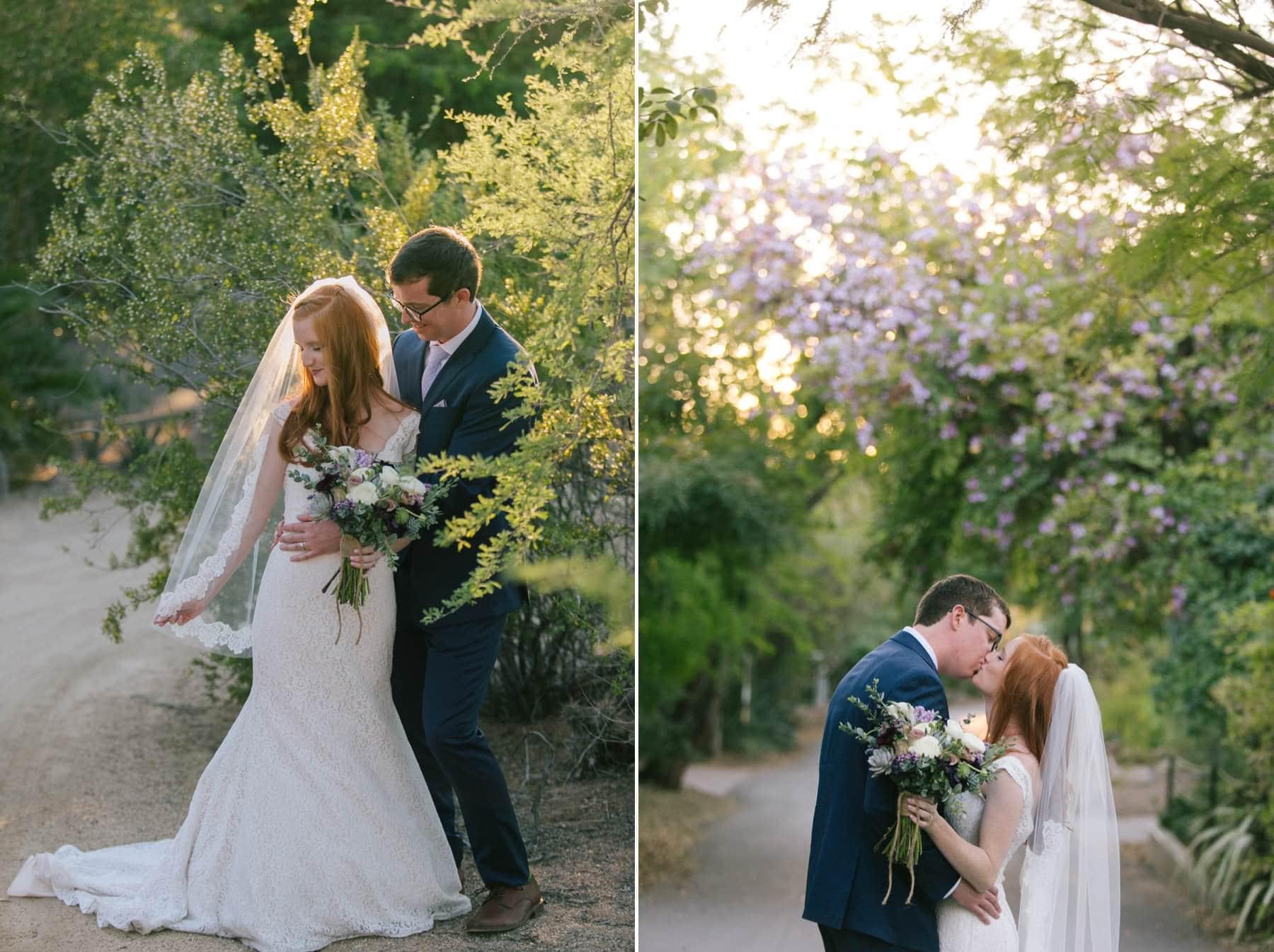 Phoenix Zoo wedding photos