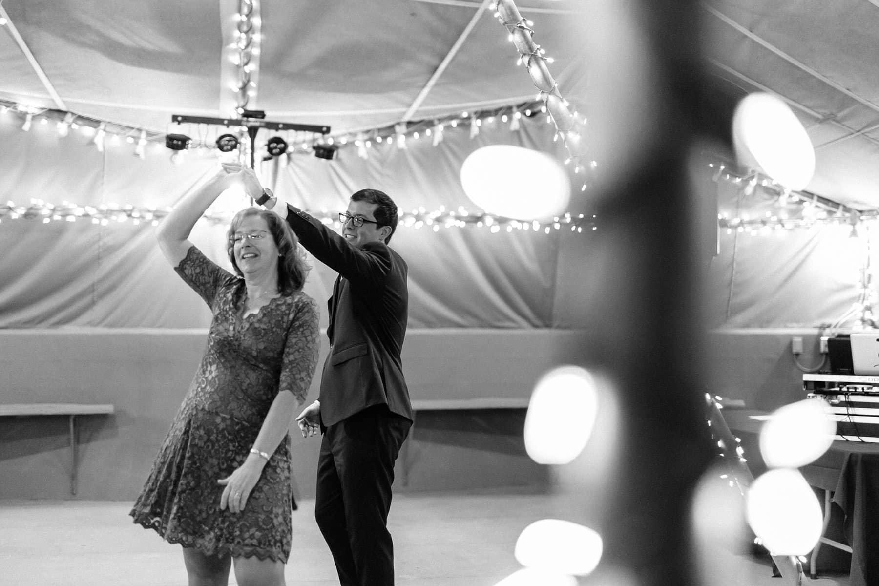 Phoenix Zoo wedding reception mother son dance