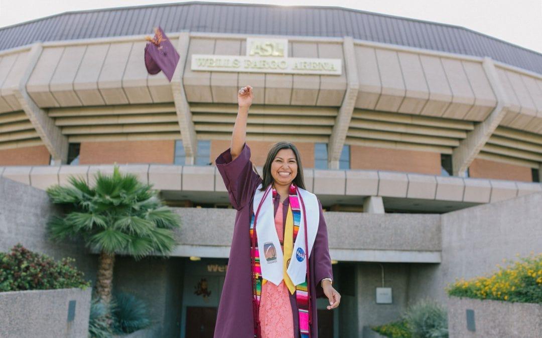 Arizona State University Graduation Portraits   Rocky
