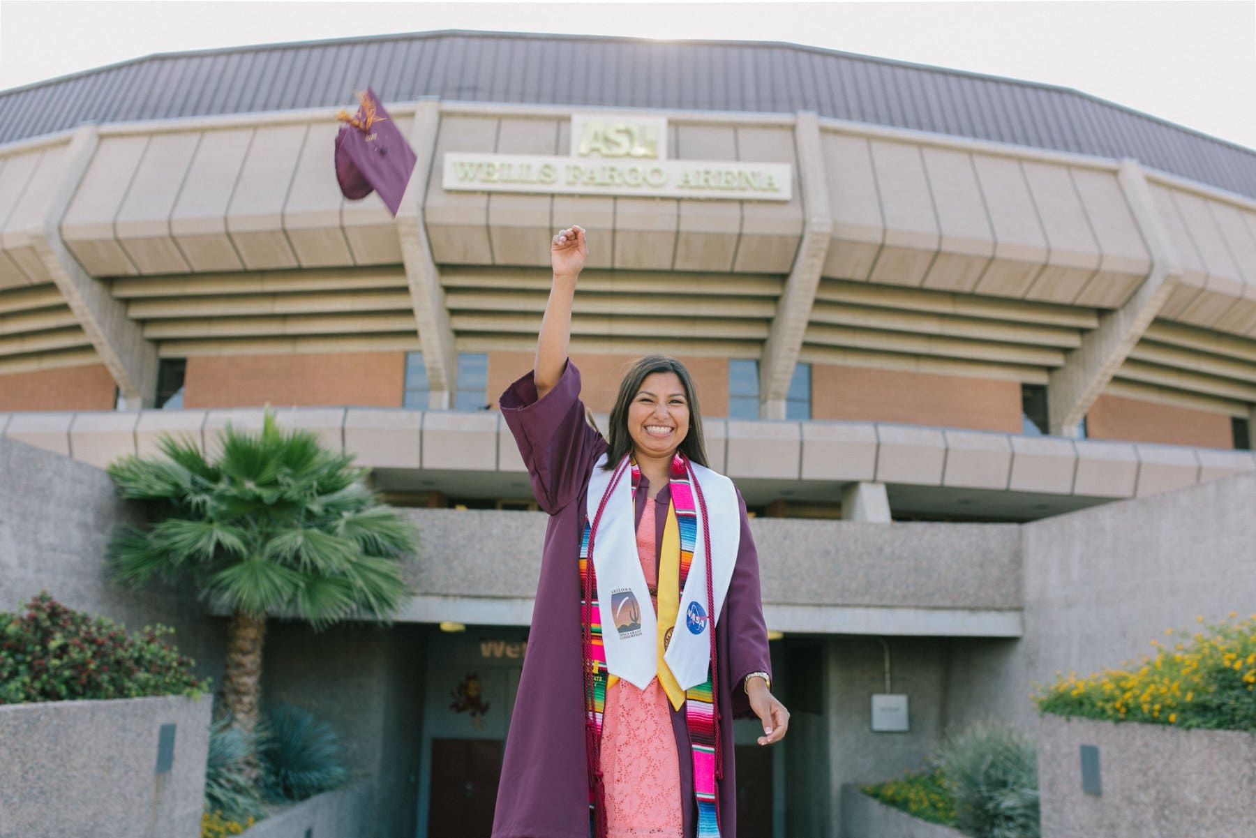 ASU college graduate photos