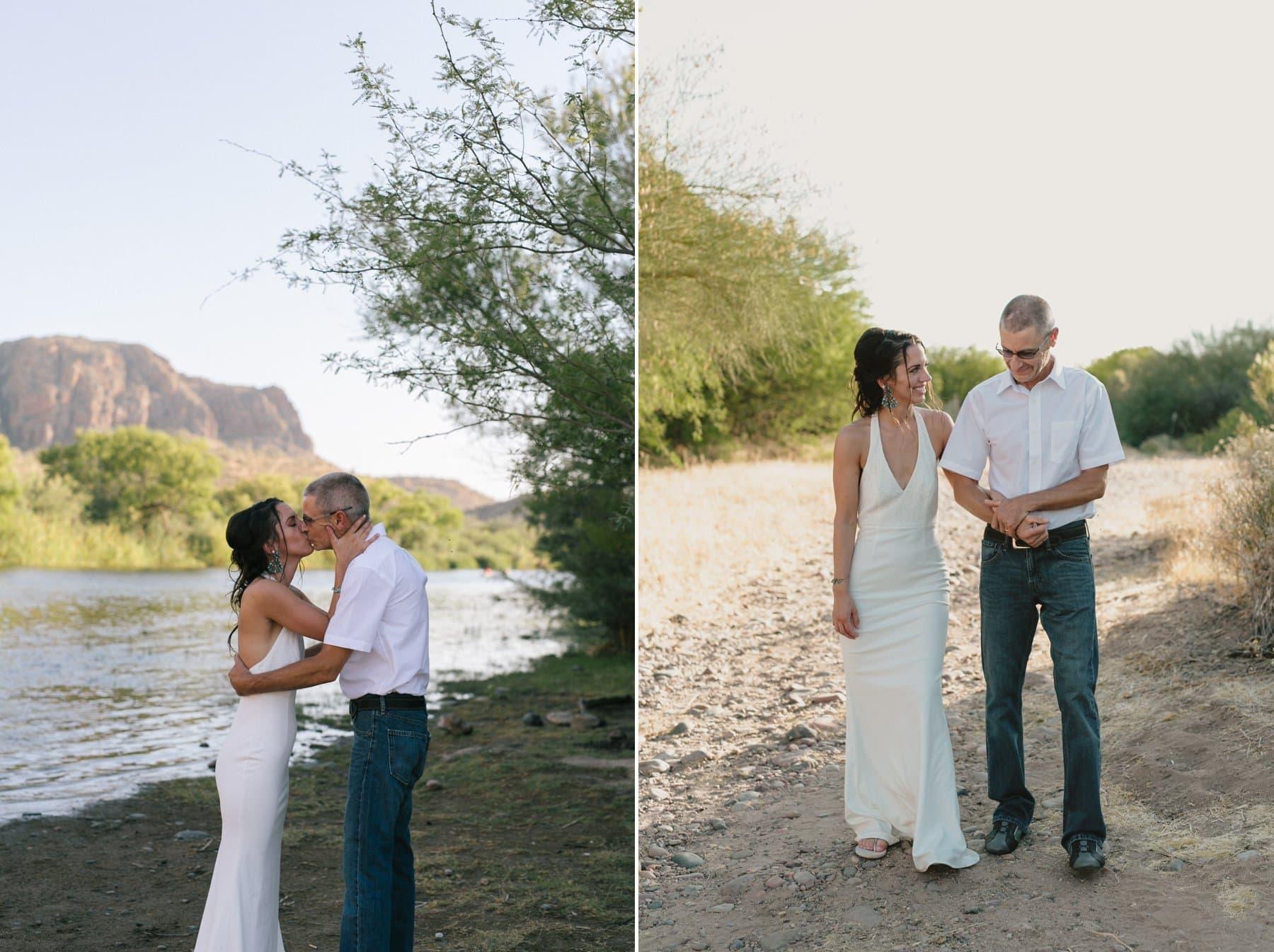 Arizona elopement photographer Salt River