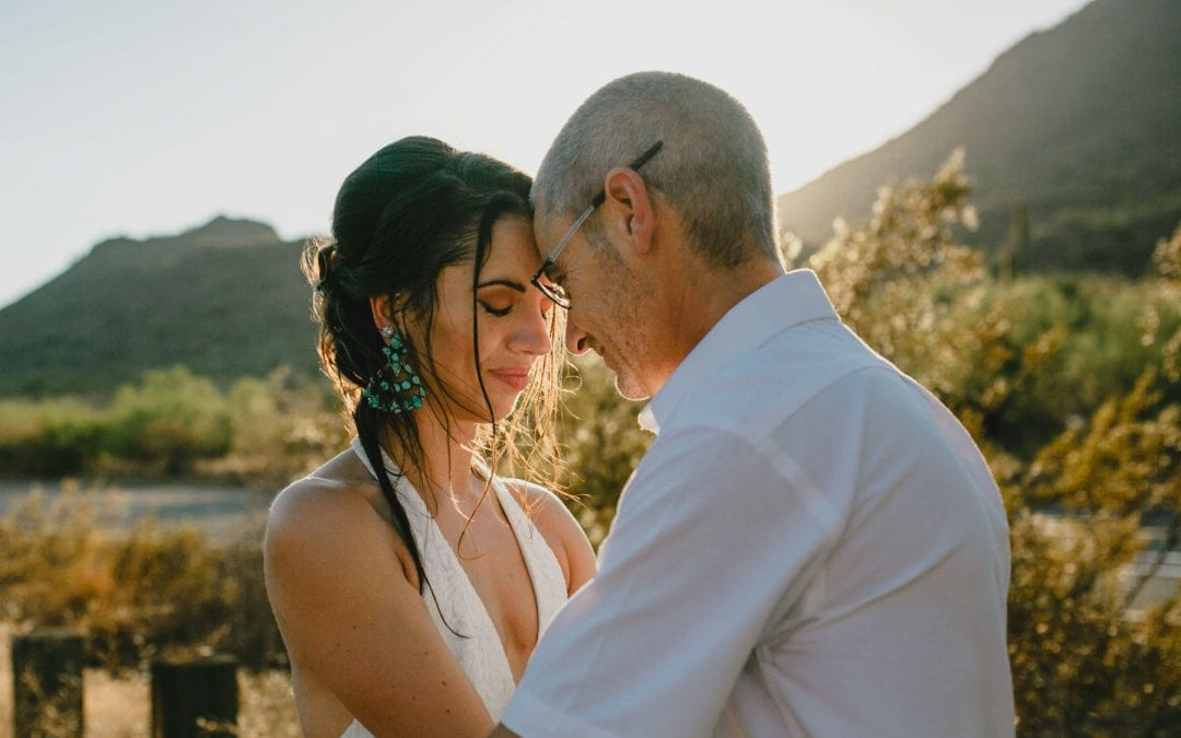 Phoenix Elopement in the Superstitions | Laura & Paul