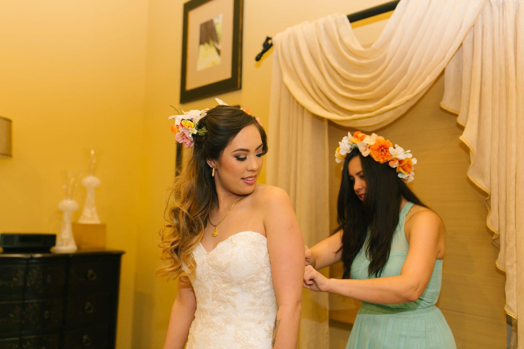 bride getting ready South Mountain Phoenix