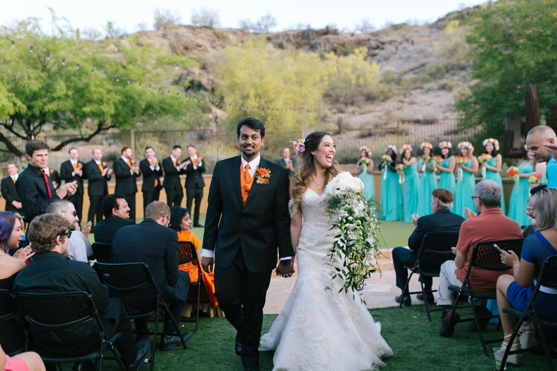 wedding at South Mountain private residence Phoenix