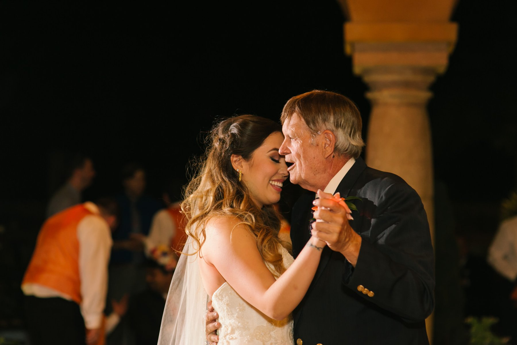 father daughter first dance South Mountain private home wedding